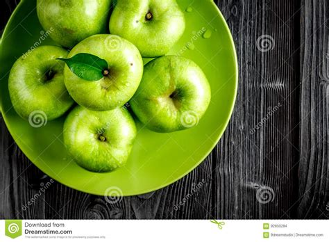 green apple great english food on the desk royalty free stock photography cartoondealer com 60788735