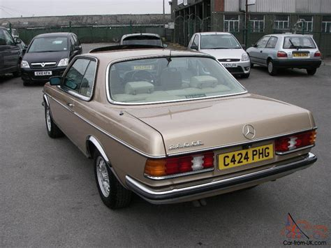 w123 coupe 1985 mercedes 280ce w123 pillarless coupe