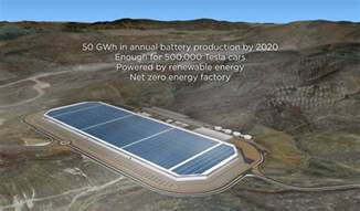 tesla battery factory nevada tesla closes on free nevada land for gigafactory