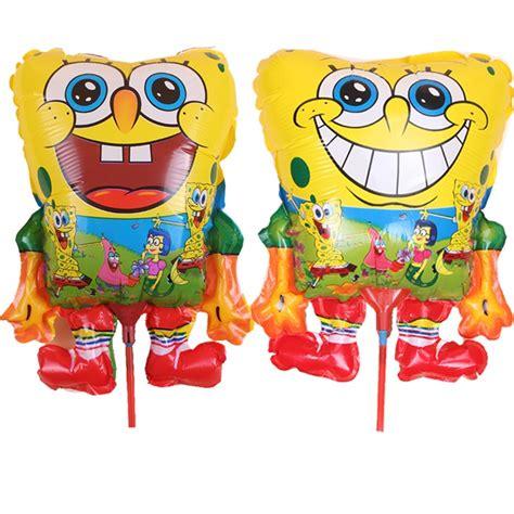 Balon Foil Spongebob Stik popular spongebob decorations buy cheap spongebob