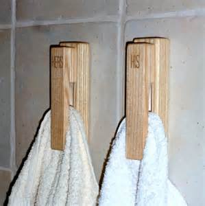 bathroom towel bar ideas oak towel bar with creative design for small