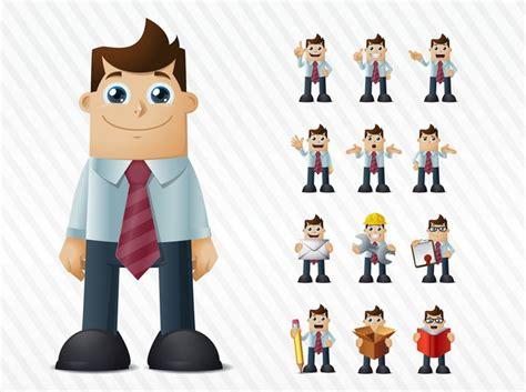 imagenes animadas hombres feliz expresi 243 n facial hombre de negocios vector de