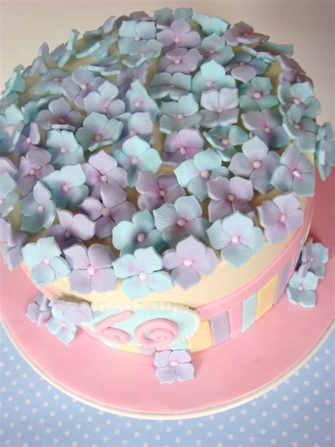 hydrangea cake butter hearts sugar pastel hydrangea cake
