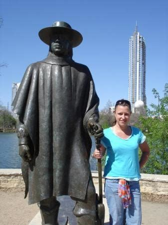 me and s.r.v. austin, tx 3/2009 picture of stevie ray