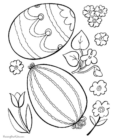 free coloring pages of easter flowers easter flower to print 002