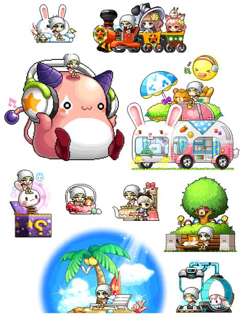 Maplestory Chairs by Maplesea