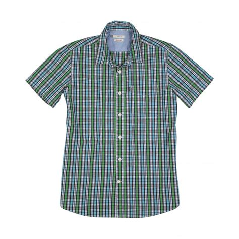 Checked Shirt aigle parkshirt sleeve checked shirt aigle from