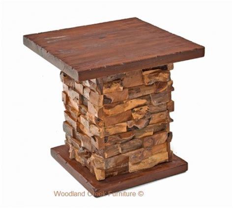 barn wood side table modern modern rustic end tables refined rustic nightstands