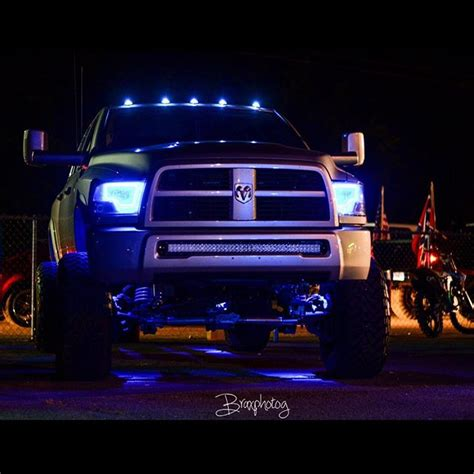 Lights On Top Of Truck by Cab Dodge Truck Cummins On Instagram