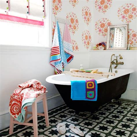 Colorful Bathroom Ideas by Colorful Bathroom Ideas And Designs