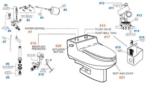 american standard bidet parts american standard toilet repair parts for roma series toilets