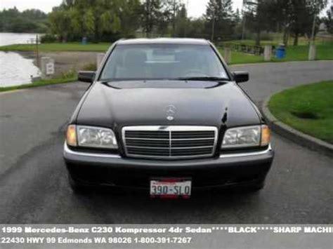 mercedes c230 kompressor 1999 1999 mercedes c230 kompressor 4dr sedan black