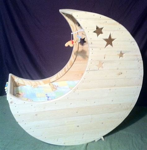 Moon Cot Baby Cradle Rainbow - 78 ideas about baby cradles on bedside