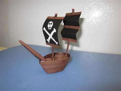 How To Make A Pirate Ship From Paper - 106 best images about paper quilling on
