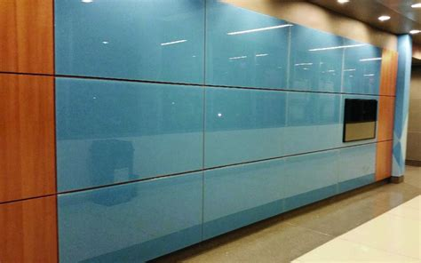 colored glass panels tech dreamwalls glass wall system