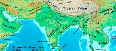 changing map  india   ad    century