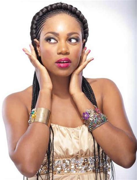 actress ynovnne nelson with bob hair yvonne jegede calls yvonne nelson an attention seeker on