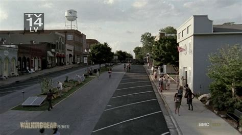 senoia is very enthusiastic about the show being filmed in their town walking dead filming locations atlanta map tour