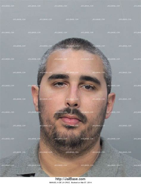 Dade County Arrest Records Manuel A De La Arrest History