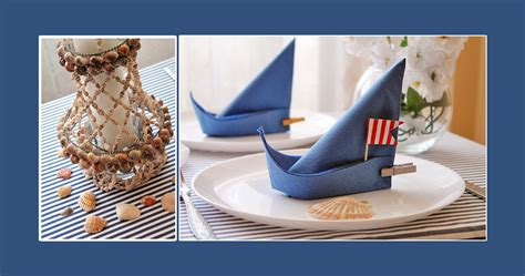 Maritime Deko Basteln by Maritime Tischdeko Deko Ideen
