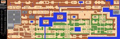 legend of zelda game map nintendo cartes map et guide officiel legend of zelda
