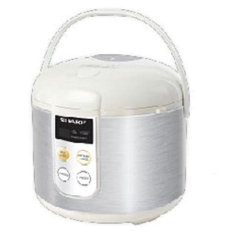 Rice Cooker Sharp Ks T18tl jual rice cooker sharp rice cooker touch panel stainless ks t18tl harga murah awet tahan lama