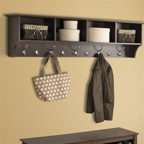 coat hanging ideas brilliant entryway storage design with wall mounted coat racks and polished metal coat hooks