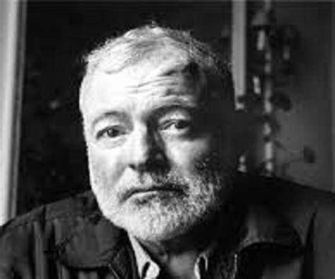 ernest hemingway life biography the only thing that can spoil a day is p by ernest