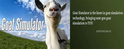 goat simulator apk goat simulator apk obb data paid 1 4 18 android by coffee stain studios