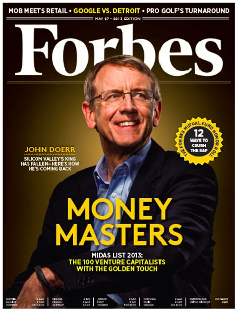 forbes video john doerr s plan to reclaim the venture capital throne