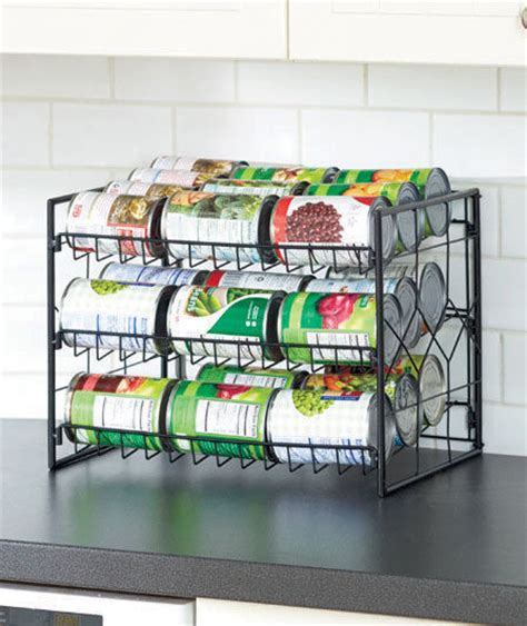 Can Rack Organizer by Kitchen Soup Can Food Rack Holder Storage Cabinets Pantry