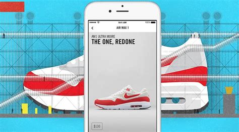 Nike S Snkrs App Puts A Shoe Store In Your Pocket