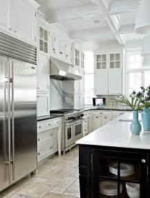lovely Beautiful Kitchens With White Cabinets #1: All+white+kitchen+4.jpg