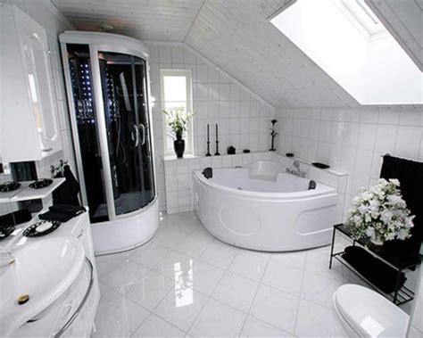 Wallpaper Ideas For Bathroom by La Petite Baignoire D Angle Est La Princesse De Votre