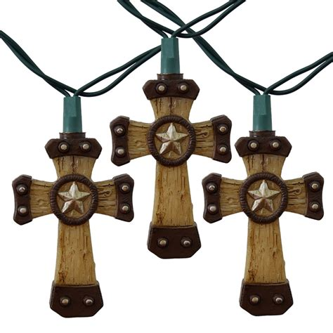 western cross string lights 10 lights