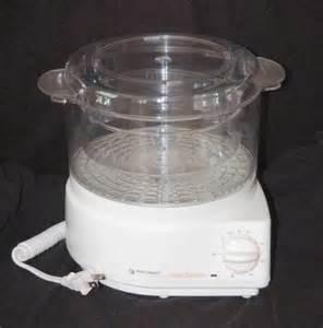 Black Decker Handy Steamer Food / Veggie Steamer Rice