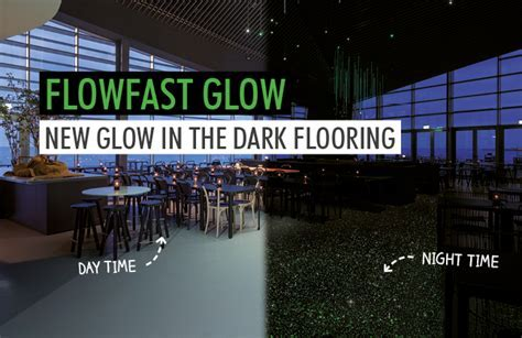 Light Up the Floor with Flowcrete?s New Glow in the Dark