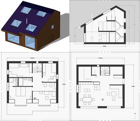 Laboratory Floor Plan application of the cradle to cradle paradigm to a housing