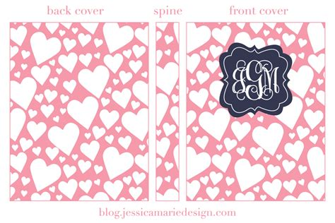 printable binder covers and spines jessica marie design blog free printable binder covers