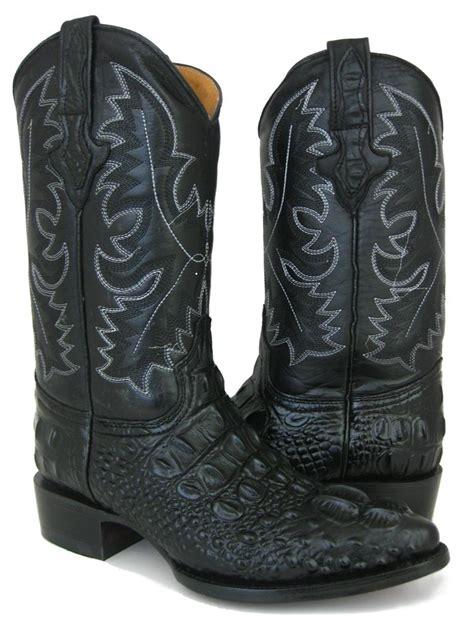 gator skin boots mens crocodile skin boots