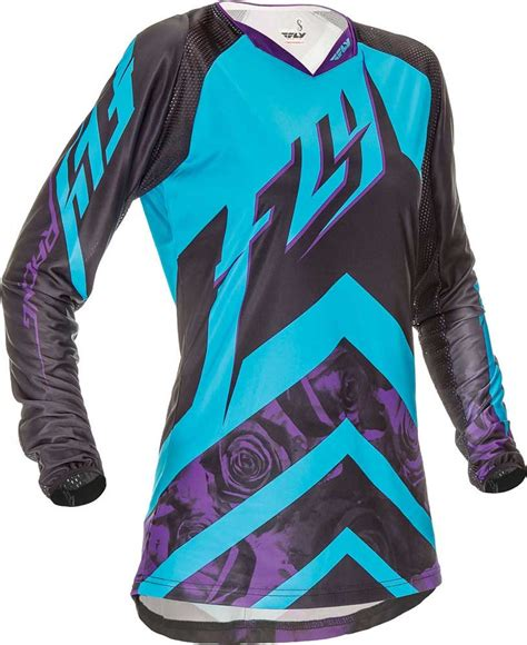 womens motocross riding gear 2016 fly racing kinetic women s jersey motocross