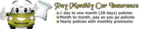 Cheap Car Insurance 1 Month by Monthly Car Insurance At Prices