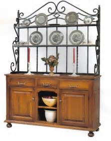 Bakers Rack Amish Heirloom Buffet With Bakers Rack