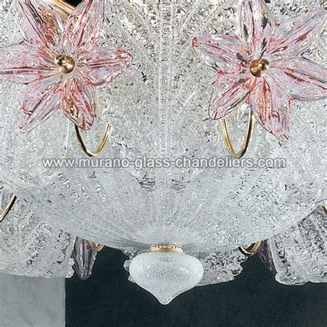chandelier fiordaliso floral murano glass 6 lights looking quot fiordaliso quot murano glass chandelier murano glass chandeliers