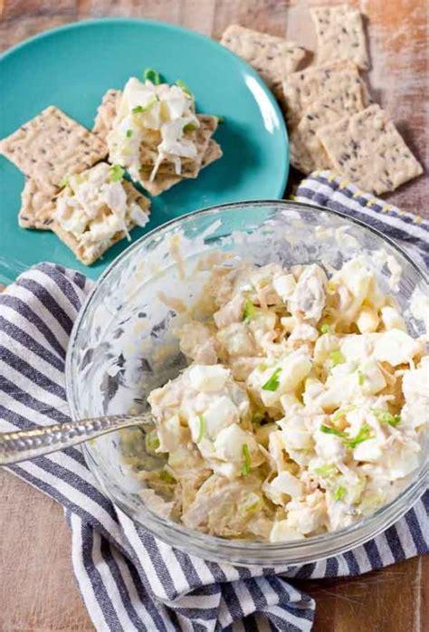 southern chicken salad a no cook gluten free recipe