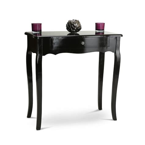black sofa table with black console table dressing tables bedroom furniture