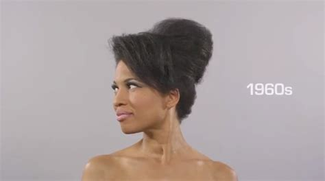 100 year hairstyles the cut make a cool time lapse quot 100 years of black hairstyles quot spice tv africa