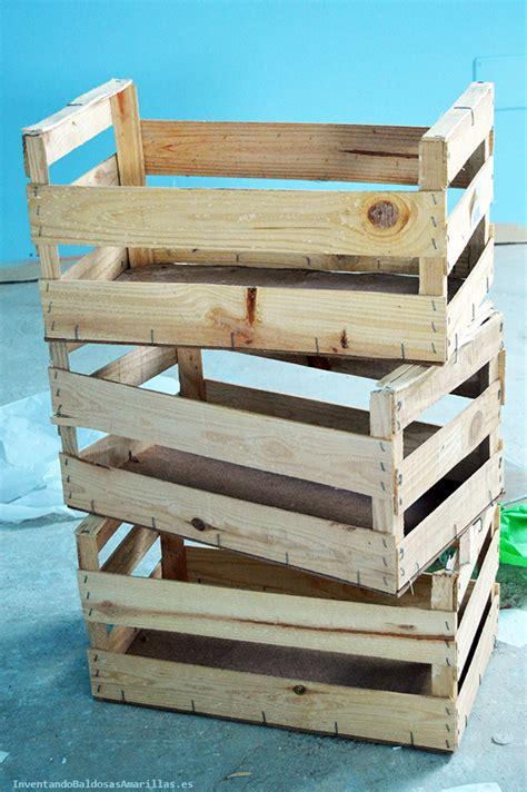 decorar cajas de madera de frutas decorar cajas de frutas