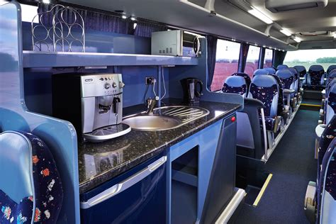Kitchen Coach by 43 57 Seats Corporate Coach