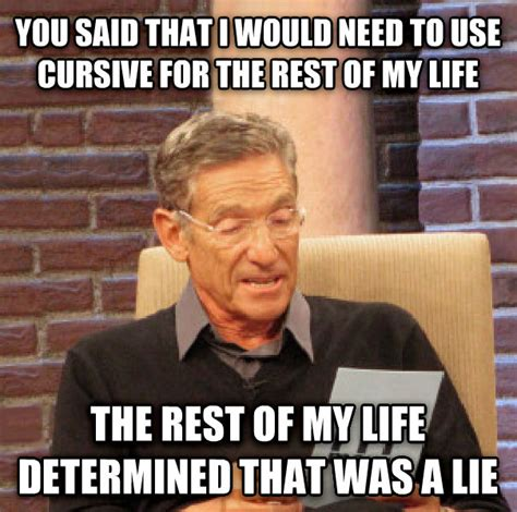 Meme Generator Script - livememe com maury determined that was a lie